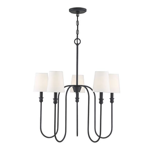 5 lights chandelier