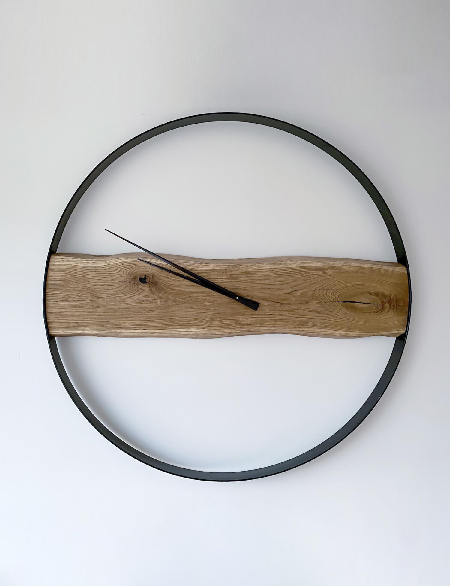 WOODEN WALL CLOCK KAYU